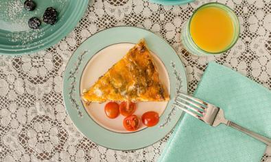Enjoy a hearty breakfast