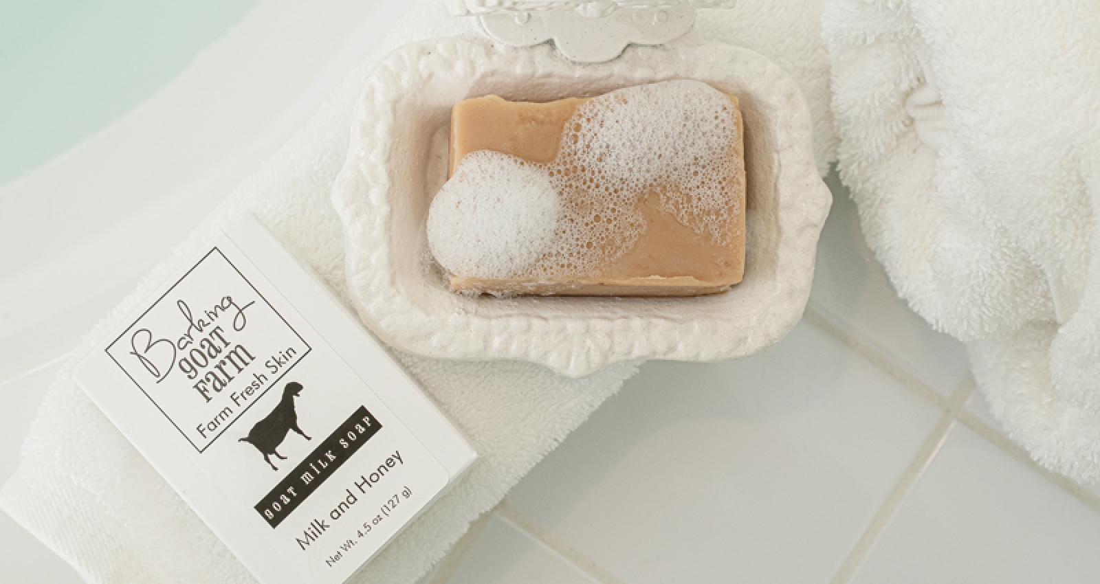 Barking Goat bath soap